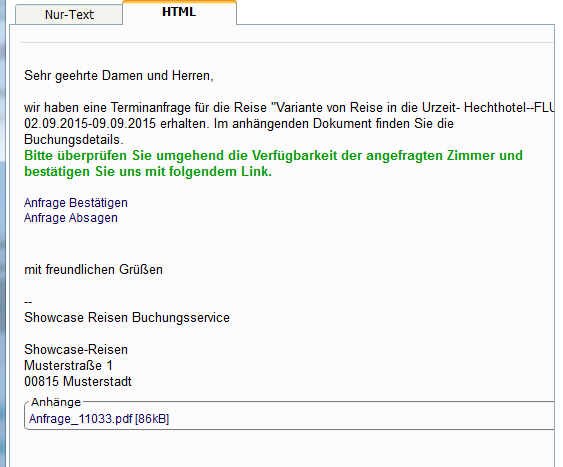 Anfragemail